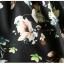 Pre-order กระโปรงพลีท จีบใหญ่ ผ้าขีฟองพิมพ์ลาย Narcissus แฟชั่นเรโทรย้อนยุค กระโปรงยาว thumbnail 7