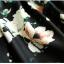Pre-order กระโปรงพลีท จีบใหญ่ ผ้าขีฟองพิมพ์ลาย Narcissus แฟชั่นเรโทรย้อนยุค กระโปรงยาว thumbnail 6