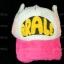 หมวก ARALE อาราเล่ รุ่นขนปุย สีชมพู ขาว 3 โทน thumbnail 2