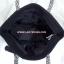 กระเป๋าสะพาย นารายา ผ้าคอตตอน นาโน สีดำ ขอบขาว-ดำ สายหิ้ว หูเปีย (กระเป๋านารายา กระเป๋า NaRaYa กระเป๋าผ้า) thumbnail 7