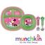 ชุด จาน ชาม ช้อน ส้อม Munchkin Disney Dining Set - 4 colours stainless steel มินี่ สีชมพู BPA FREE thumbnail 1