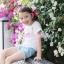 เสื้อเด็กหญิง สีขาว แฟชั่นเด็ก New PinkIdeal thumbnail 3