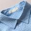[พร้อมส่ง] เสื้อเชิร์ตลายสก๊อตสีพาสเทลหวาน มีสีฟ้า thumbnail 7