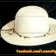 หมวกสาน คุณนาย สีขาวครีม พันเชือกน้ำตาล ครีม ร้อยลูกปัด สวยหวานมากๆ thumbnail 4