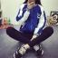 [พร้อมส่ง] เสื้อเบสบอล FREAKA มีสีน้ำเงิน thumbnail 7