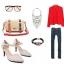 พรีออเดอร์ รองเท้าแฟชั่นผู้หญิง ส้นสูง หัวแหลม หนังแท้ สีเหลือง Brand: Xuan Hong Mi เสื้อผ้าแฟชั่นสไตล์เรโทร thumbnail 2