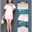 Pre-order เสื้อชีฟองประดับลูกไม้ แขนใบบัว สไตล์ย้อนยุคหวาน ๆ สีขาว thumbnail 4