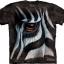 Pre.เสื้อยืดพิมพ์ลาย3D The Mountain T-shirt :Zebra Eye thumbnail 1