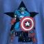 z Captain America Flocked Tee for Men thumbnail 2
