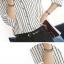 (Pre-Order) เสื้อชีฟองแขนยาว เสื้อทำงานแขนยาว ลายขาว-ดำ แฟชั่นเสื้อมาใหม่ปี 2014 thumbnail 4