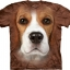 Pre.เสื้อยืดพิมพ์ลาย3D The Mountain T-shirt : Beagle Face thumbnail 1
