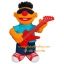 Sesame Street PLAYSKOOL LET'S ROCK! Strummin' Ernie (พร้อมส่ง) thumbnail 2