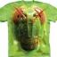 Pre.เสื้อยืดพิมพ์ลาย3D The Mountain T-shirt : Grasshopper Face thumbnail 1