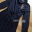 Lady Ribbon's Made Lady Kelly Minimal Feminine Poplin Cotton and Lace Shirt Dress เชิ้ตเดรสผ้าป็อปลินคอตตอนตกแต่งลูกไม้สไตล์มินิมัลเฟมินีน ตัวนี้จะออกเรียบๆหวานๆ ครึ่งบนเป็นคอตตอนสีดำเรียบ ส่วนช่วงกระโปรงตกแต่งคลุมด้วยลูกไม้สีดำ ที่เอวผูกริบบิ้น ***ง thumbnail 12