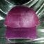 หมวก Cap กากเพชร กลิตเตอร์ สีชมพูอมม่วง thumbnail 2