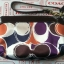 **พร้อมส่ง + ลด 50 %** Coach 48213 ASHLEY HAND DRAWN SCARF PRINT MEDIUM WRISTLET thumbnail 5