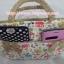 กระเป๋าถือ นารายา ผ้าคอตตอน ลายช้าง หลากสี ติดโบว์เล็กๆ ด้านหน้า สายหิ้ว หูเปีย (กระเป๋านารายา กระเป๋า NaRaYa กระเป๋าผ้า) thumbnail 6