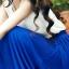 Pre-Order กระโปรงพลีท ผ้าชีฟอง ปี 2014 สไตล์โบฮีเมียน ราคาเบา ๆ น่าเป็นเจ้าของที่สุด สีน้ำเงิน thumbnail 2