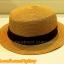 หมวกสาน ทรงขนมเค้ก สีน้ำตาล คาดแถบผ้าโบว์สีดำ คุณหนูๆ ฮิตๆจ้า !!! thumbnail 2
