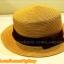 หมวกสาน ทรงขนมเค้ก สีน้ำตาล คาดแถบผ้าโบว์สีดำ คุณหนูๆ ฮิตๆจ้า !!! thumbnail 3