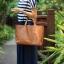Pre-Order กระเป๋าสะพายผู้หญิง หนังแท้ หิ้วได้ สะพายได้ มีกระเป๋าชั้นในผ้าโพลีเอสเตอร์ถอดได้ สีแดง thumbnail 4