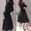 Sevy V-Neck Classy Black Ribbon Waist Dress Type: Dress Fabric: Spandex เนื้อผ้าเกรดดี เนื้อผ้ายืดหยุ่นได้ เนื้อผ้ามีน้ำหนักค่อนข้างมาก Detail : Dress ลุคเรียบหรู คอวี แขนยาว ชายแขนเสื้อผ่าขึ้นเล็กน้อย กระดุมผ่าหน้าใส่ง่าย มาพร้อมเชือกผ้าผูกเอว ใส่ออกมาแล thumbnail 4