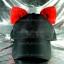 หมวกแก๊ป Cap สีดำ หูแมวสีแดง thumbnail 1