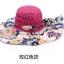 Pre-order หมวกปีกกว้างแฟชั่นฤดูร้อน กันแดด กันแสงยูวี สวยหวานเรียบหรู ดูดี สีชมพูบานเย็น thumbnail 1