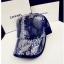(Pre-order) หมวกเบสบอล ปักดิ้นเงิน แบบเท่ ๆ งานฝีมือระดับ Luxury thumbnail 1