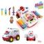 HuileToys รถพยาบาล สุดเจ๋ง All Around Ambulance สำหรับน้อง 36 เดือน+ thumbnail 1