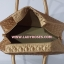 กระเป๋าเดินทาง นารายา ผ้าซาติน สีทอง ทรงสี่เหลี่ยมคางหมู (กระเป๋านารายา กระเป๋า NaRaYa กระเป๋าผ้า) thumbnail 7