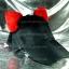 หมวกแก๊ป Cap สีดำ หูแมวสีแดง thumbnail 2