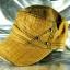 หมวก Cap ผ้าสีน้ำตาลโทนเหลือง ลายปักสีเหลืองทอง LEVI'S เท่ห์มากๆ thumbnail 3