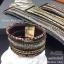 พร้อมส่ง ~ Swarovski Bracelet ข้อมือหนังกลับงานชวารอฟสกี้ รุ่นนี้แนะนำเลยคะ thumbnail 3