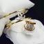 พร้อมส่ง ~ กำไลข้อมือและแหวน Chanel งานทอง 5 ไมครอน thumbnail 1