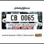 กรอบป้ายทะเบียนรถยนต์ CARBLOX ระหัส CB 0065 ลายYINYANG. thumbnail 1
