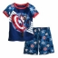 Captain America PJ Pal Shorts set for Boys size3 thumbnail 1