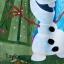 "z "" Beach Towel Frozen Elsa & Anna & Olaf ของแท้ นำเข้าจากอเมริกา thumbnail 2"