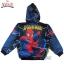 """ฮ """" S-M-L-XL """" เสื้อแจ็คเก็ต Spiderman เสื้อกันหนาว เด็กผู้ชาย สีน้ำเงิน รูดซิป มีหมวก(ฮู้ด) ใส่คลุมกันหนาว กันแดด สุดเท่ห์ ใส่สบาย ลิขสิทธิ์แท้ (ไซส์ S-M-L-XL ) thumbnail 5"""