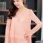 (Pre-Order) เสื้อลูกไม้ชีฟองแขนยาว สีพื้น เสื้อทำงานหรือลำลอง แฟชั่นเสื้อลูกไม้สไตล์เกาหลีปี 2014 thumbnail 2
