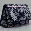 กระเป๋าเครื่องสำอางค์ นารายา ผ้าคอตตอน สีน้ำเงิน ลายดอกไม้ มีกระจกในตัว Size L (กระเป๋านารายา กระเป๋าผ้า NaRaYa) thumbnail 1
