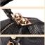 (Pre-order) กระเป๋าหนังแท้ กระเป๋าสะพายผู้หญิง หนังแท้ปั้มลายหนังงู แบบคลาสสิค สไตล์ยุโรป อเมริกา สีเบจ thumbnail 7