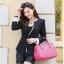Pre-Order เสื้อสูททำงานแขนยาว เสื้อสูทผู้หญิง สูทลำลอง สีดำ แฟชั่นชุดทำงานสไตล์เกาหลีปี 2014 thumbnail 2