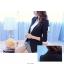 เสื้อสูท ผ้าหนาอย่างดี มีซับในเย็บติดไร้ตะเข็บ มีกระดุม รุ่น R1133 สีดำ thumbnail 3