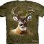 Pre.เสื้อยืดพิมพ์ลาย3D The Mountain T-shirt : Camo Deer thumbnail 1