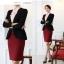 พรีออเดอร์ เสื้อสูททำงาน เสื้อสูทผู้หญิง แฟชั่นเสื้อสูทสไตล์เกาหลี thumbnail 16