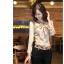 (Pre-Order) เสื้อทำงาน ผูกโบว์ที่คอเสื้อ แขนยาว ผ้าซาติน สีแอพพริคอต thumbnail 6