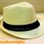 หมวกสาน ทรงไมเคิล สีขาวขอบเรียบ แถบดำ ฮิตๆ เท่ห์ !!! thumbnail 1