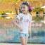เสื้อเด็กหญิง สีขาว แฟชั่นเด็ก New PinkIdeal thumbnail 4