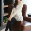 (Pre-Order) เสื้อลูกไม้ชีฟองแขนยาว สีพื้น เสื้อทำงานหรือลำลอง แฟชั่นเสื้อลูกไม้สไตล์เกาหลีปี 2014 thumbnail 15